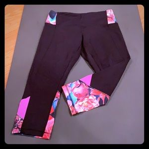 Lululemon rose crop